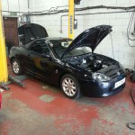 MGF hardtop, wiper linkage conversion